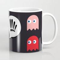Pac-Man Trapped Mug