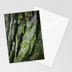 moss, bark Stationery Cards