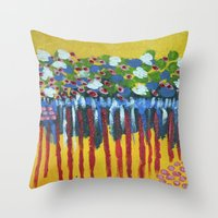 :: Reflection :: Throw Pillow