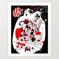 Alice's Adventures In Wo… Art Print