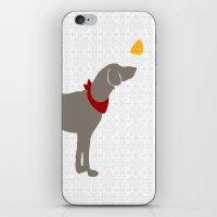 Weimaraner Dog Art iPhone & iPod Skin