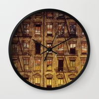 The Fire Next Time Wall Clock