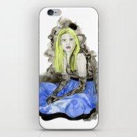 Blue Dress iPhone & iPod Skin