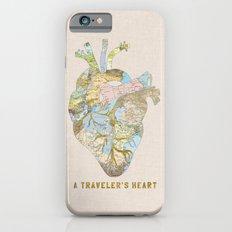 A Traveler's Heart iPhone 6 Slim Case