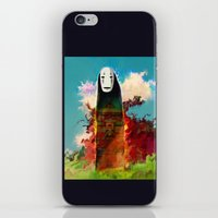 No Face iPhone & iPod Skin