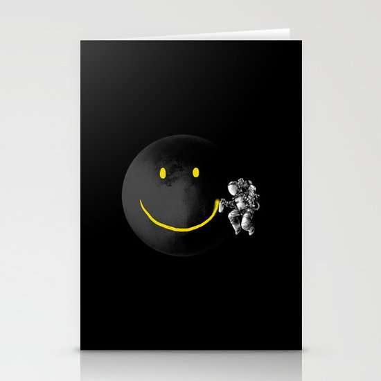 Make a Smile Stationery Card