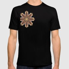 chaos symbol Black SMALL Mens Fitted Tee