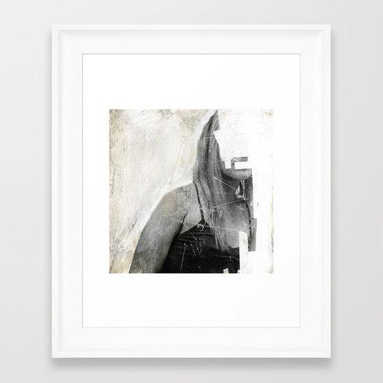 Faceless | number 03 Framed Art Print