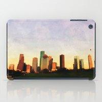 Houston Skyline iPad Case
