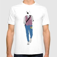 Terrier Mens Fitted Tee White SMALL