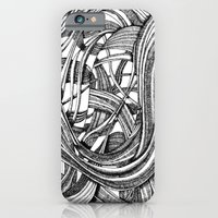iPhone & iPod Case featuring Into The Wild (b&w version) by Balazs Pakozdi