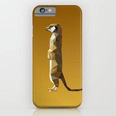 Geometric Meerkat Slim Case iPhone 6s