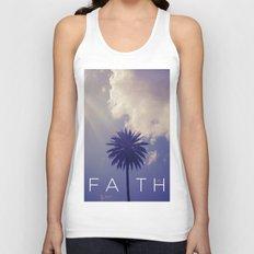 Palm Tree Faith Unisex Tank Top