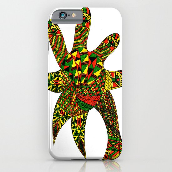 Finger Palm Tree iPhone & iPod Case