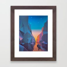 SHIP SAILED (everyday 03… Framed Art Print
