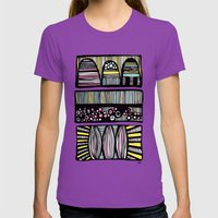 Free Style Womens Fitted Tee Ultraviolet SMALL