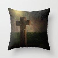 Im Licht Throw Pillow
