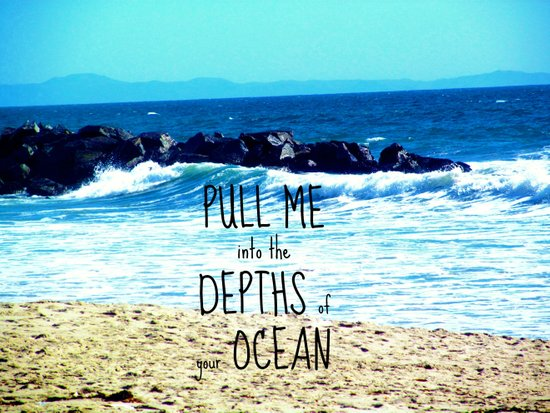 PULL ME INTO YOUR DEPTHS II  Canvas Print