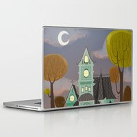 house Laptop & iPad Skins featuring House by Fran Court