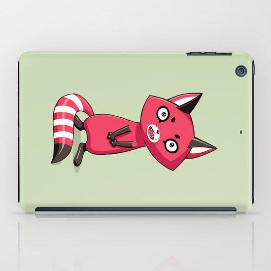 Shy Raccoon iPad Case