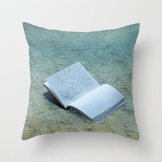 Memories Lost Throw Pillow