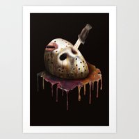 Friday The 13th Art Print