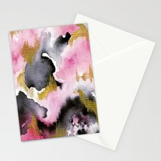 Watery Abstract #1 Stationery Cards