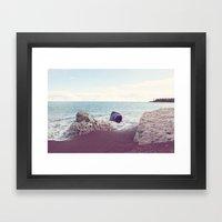 Grand Marais Bay Framed Art Print