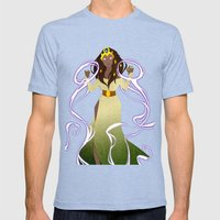 the Sorceress Mens Fitted Tee Tri-Blue SMALL