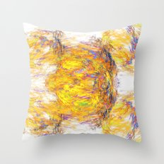 I Think five Throw Pillow