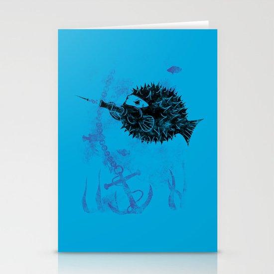 Blowgun Fish Stationery Card