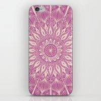 Vintage Mandala-Purply iPhone & iPod Skin