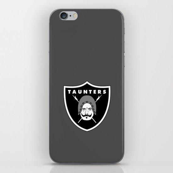 Taunters iPhone & iPod Skin