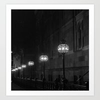 Late Night Lights Art Print