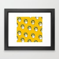 Headbond Girl Framed Art Print