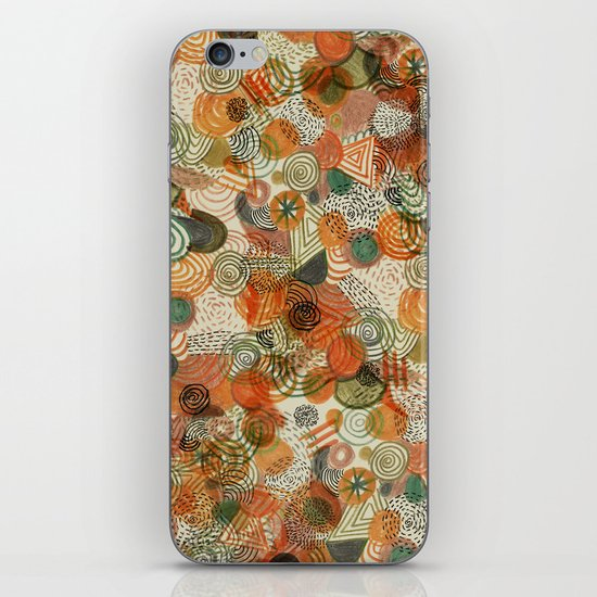 Tomatoes and pickles  iPhone & iPod Skin