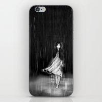 ... as the rain fell on me iPhone & iPod Skin