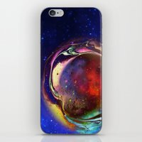 Birth Of A New Planet iPhone & iPod Skin