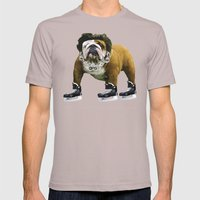 Flow Dog Mens Fitted Tee Cinder SMALL