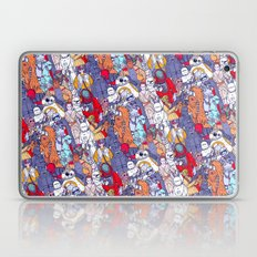 Smaller Space Toons in Color  Laptop & iPad Skin