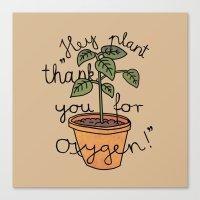 Thanks! Canvas Print