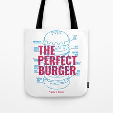 The Perfect Burger Tote Bag