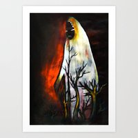 Night Walker Art Print