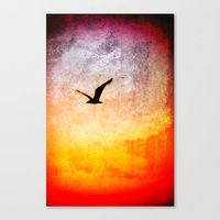 Flight at Dawn Canvas Print
