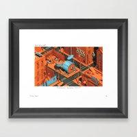 POP HELL #9 Framed Art Print