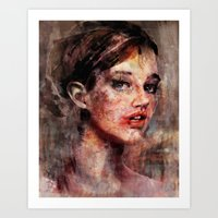 Be Good, Damaged Baby Doll Art Print