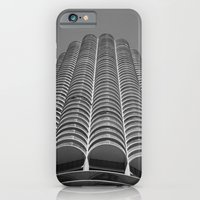 Marina City Tower Photo, Chicago, Architecture iPhone 6 Slim Case