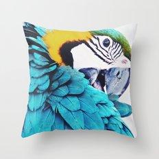 Parrot Life Throw Pillow