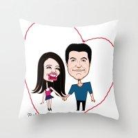 Rebecca Black And Simon … Throw Pillow