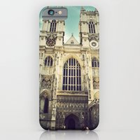iPhone & iPod Case featuring Westminster Abbey by Olivia Nicholls-Bates